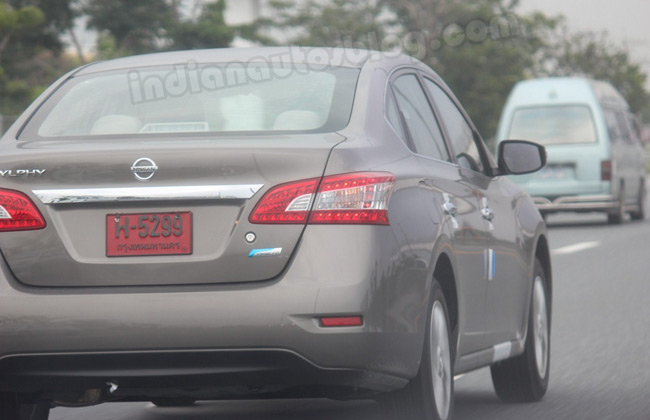 Nissan Sylphy Sunny Captured Testing In Thailand