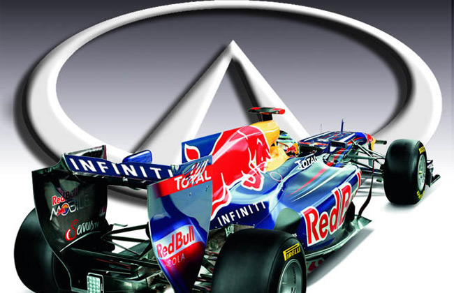 Red Bull Racing is now called 'Infiniti Red Bull Racing'