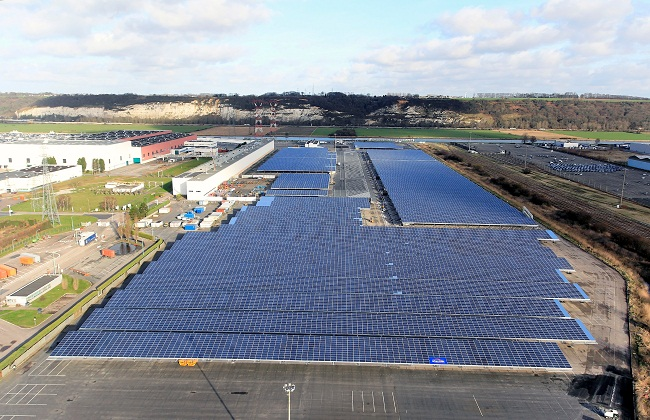 Renault comes with world's biggest photovoltaic system in auto industry