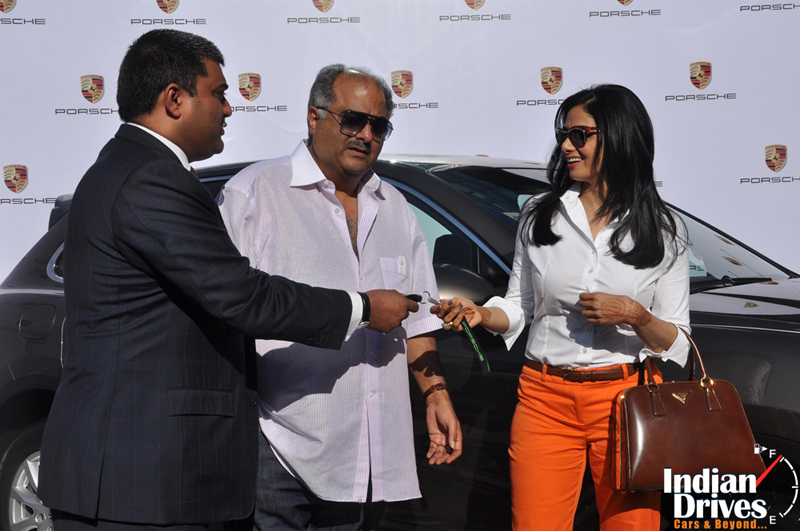 Sridevi become proud owner of Porsche Cayenne Diesel