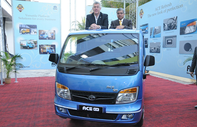 Tata Ace touches one million mark milestone