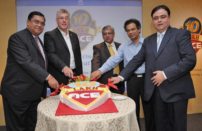 Tata Ace touches one million mark milestone