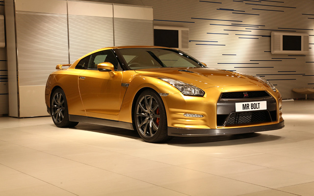 'Usain Bolt' Nissan GT-R to Be Auctioned on 22nd December