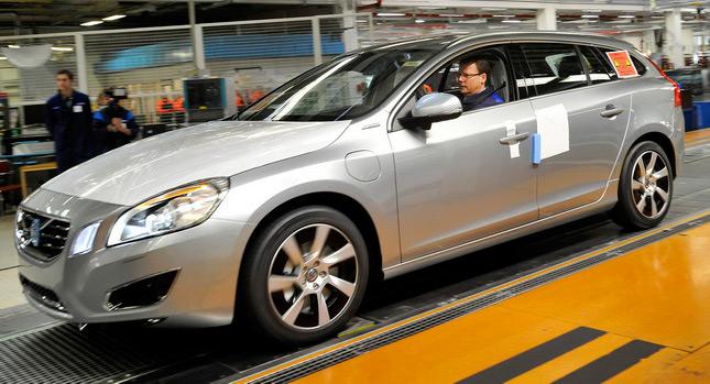 Volvo to produce globe's first V60 diesel plug-in hybrid