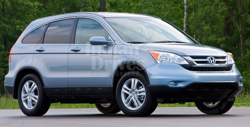 2013 Honda CR-V is now 4x4 of the year