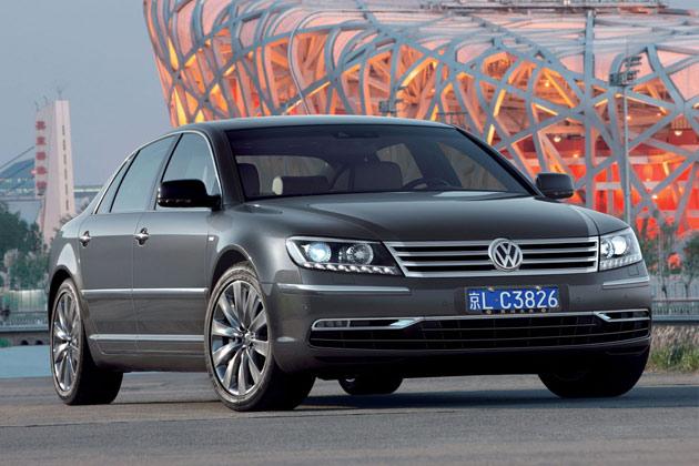 2015 Volkswagen Phaeton to boast VW's innovative family design