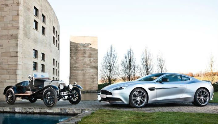 Aston Martin to mark its 100th year in style