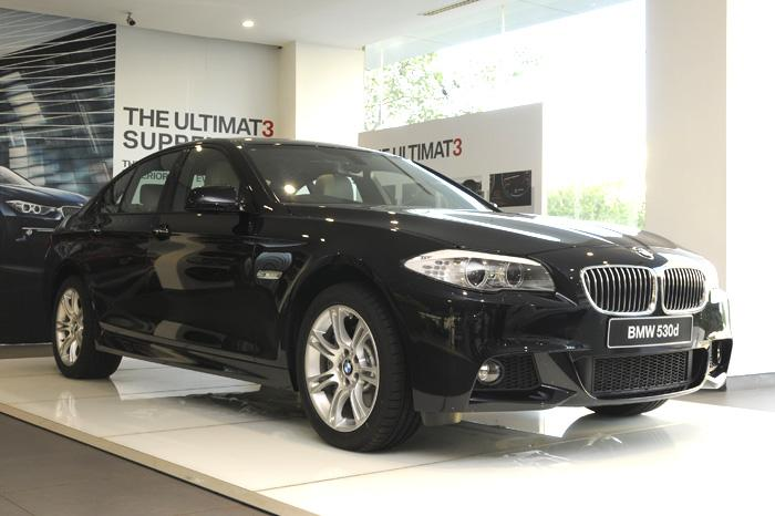 BMW 530d M Sport revealed, old 530d to be discontinued