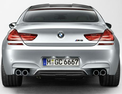 BMW M6 Gran Coupe Revealed officially