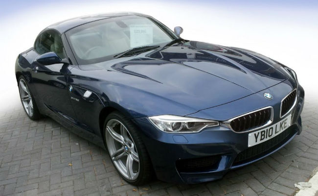 BMW reveals Z4 facelift