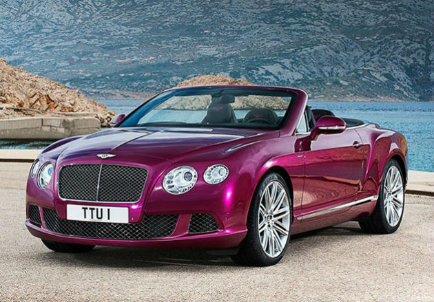 Bentley Continental GT Speed revealed