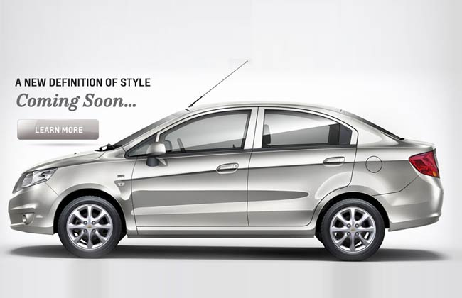 Chevrolet Sail sedan to arrive soon according to Chevrolet India website