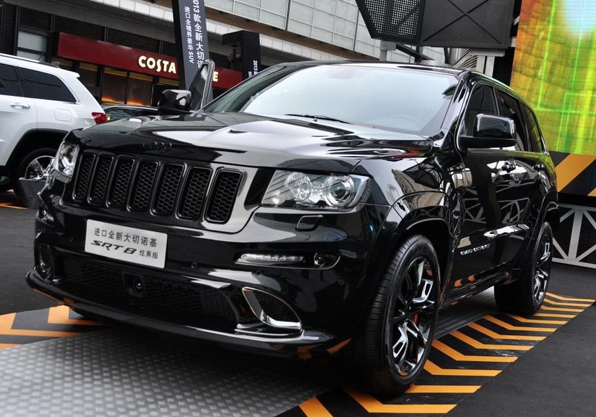 Chrysler Group launched Jeep Grand Cherokee SRT Black Edition in China
