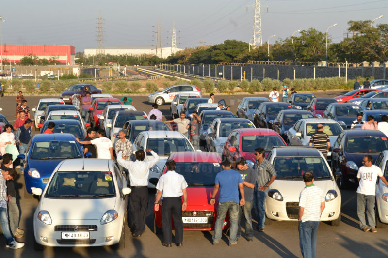 FIAT buffs visit Ranjangaon facility