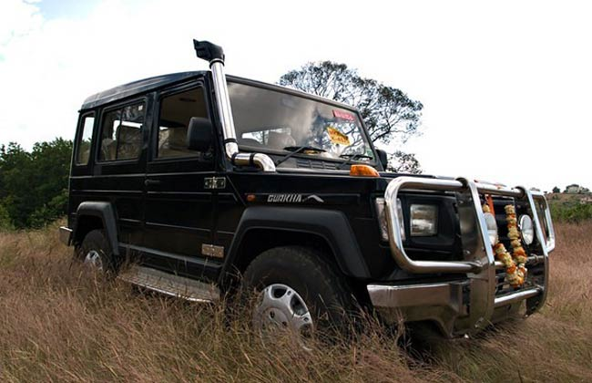 Force Gurkha 4x4 to Hit the Market by Mid 2013