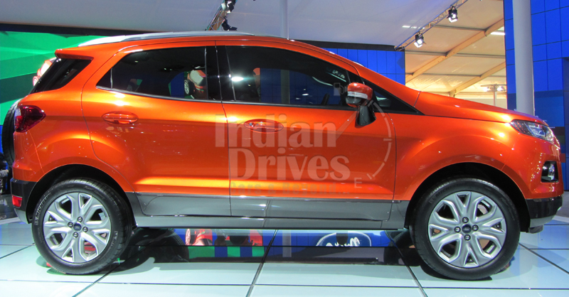 Ford EcoSport 7-Seater edition under construction