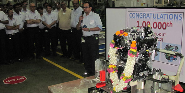 GM India achieves 1,00,000 engine milestone from Talegaon facility