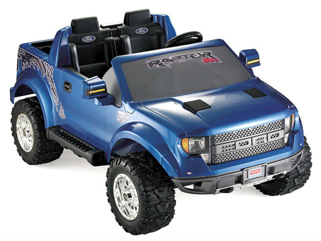 Game and toy makers prefer Ford Raptor over Hummer for license rights
