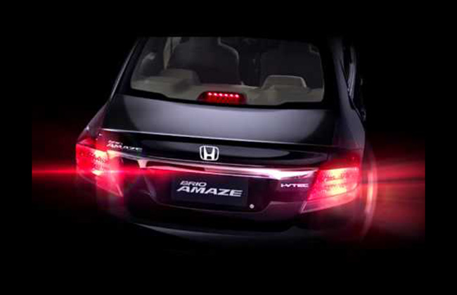 Honda Amaze bracing for a launch by the first half of 2013