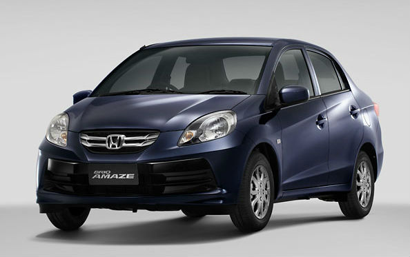 Honda Brio Amaze to carry a very aggressive price tag