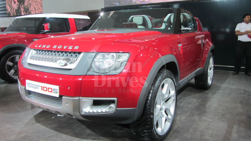 Land Rover DC100 close to reality