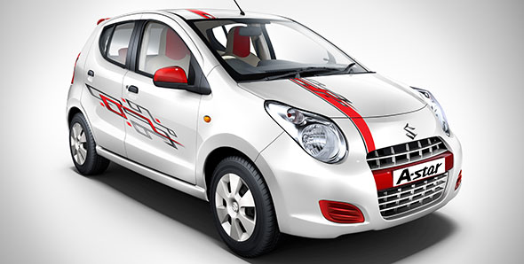 Maruti launches A-Star Aktiv