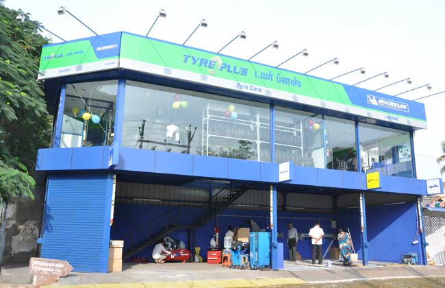 Michelin opens two new stores in Tamil Nadu