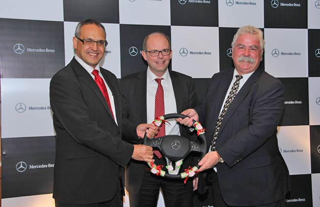 Mr. Eberhard Kern as the new leader for Mercedes-Benz India