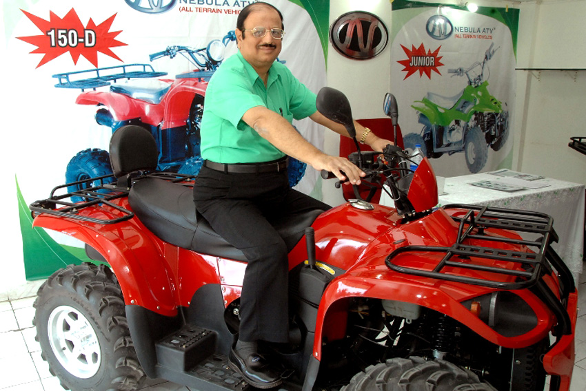 Nebula Automotive brings High-end ATV to Indian market