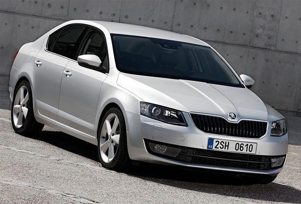 New Skoda Octavia steals the show