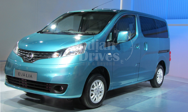 Nissan Evalia to receive some key updates by Feb 2013
