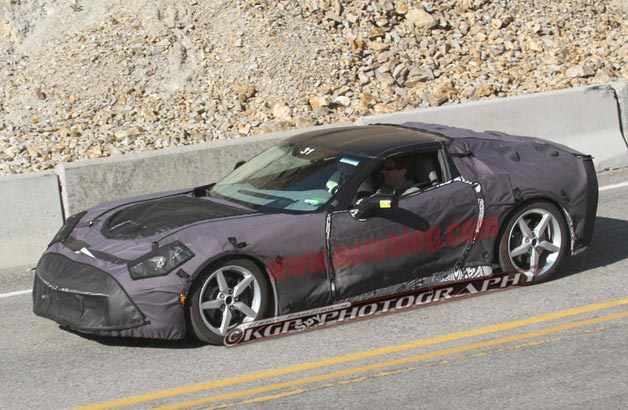 Production model of Chevrolet Corvette C7 expected to be auctioned