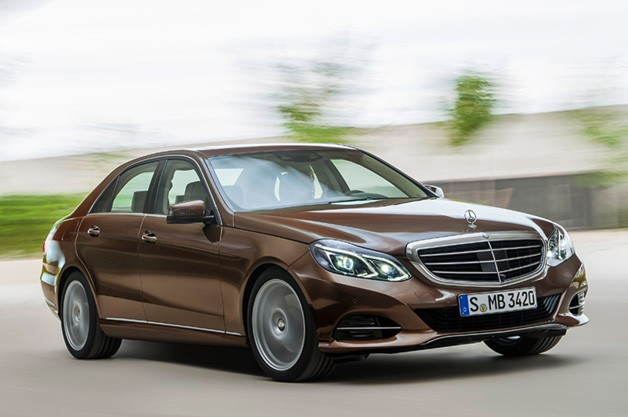 Refreshed Mercedes E-class unveiled