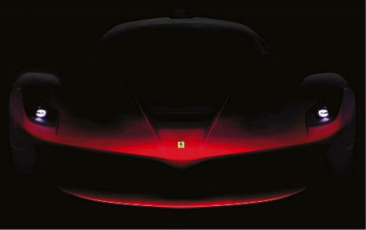 Teaser Images Of Ferrari Enzo Successor Released