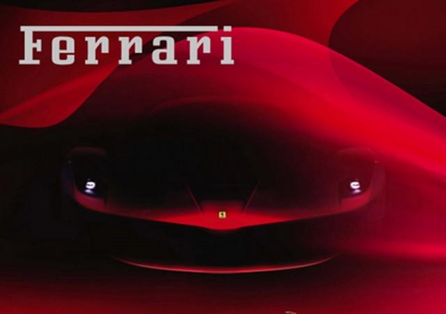 Teaser Images Of Ferrari Enzo Successor Released