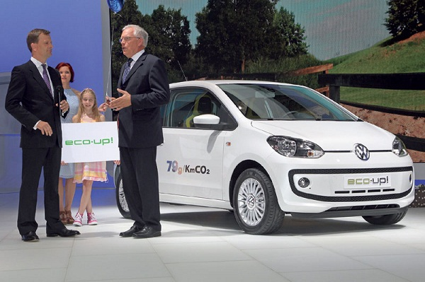 Volkswagen discloses an innovative European-market 'Eco' edition Of Its Up! city car