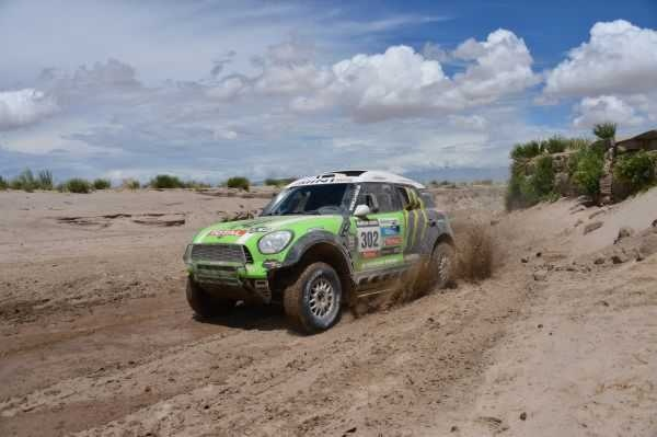 MINI wins 2013 Dakar Rally