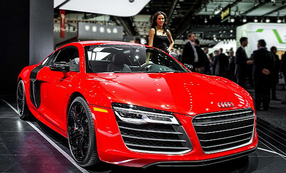2013 NAIAS Audi R8 Facelift