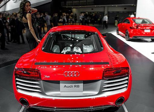 2013 NAIAS Audi R8 Facelift