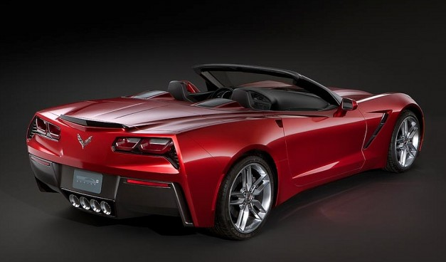 2014 Chevrolet Corvette Stingray back view