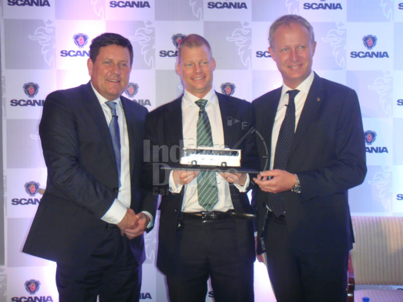 Scania launches intercity premium buses