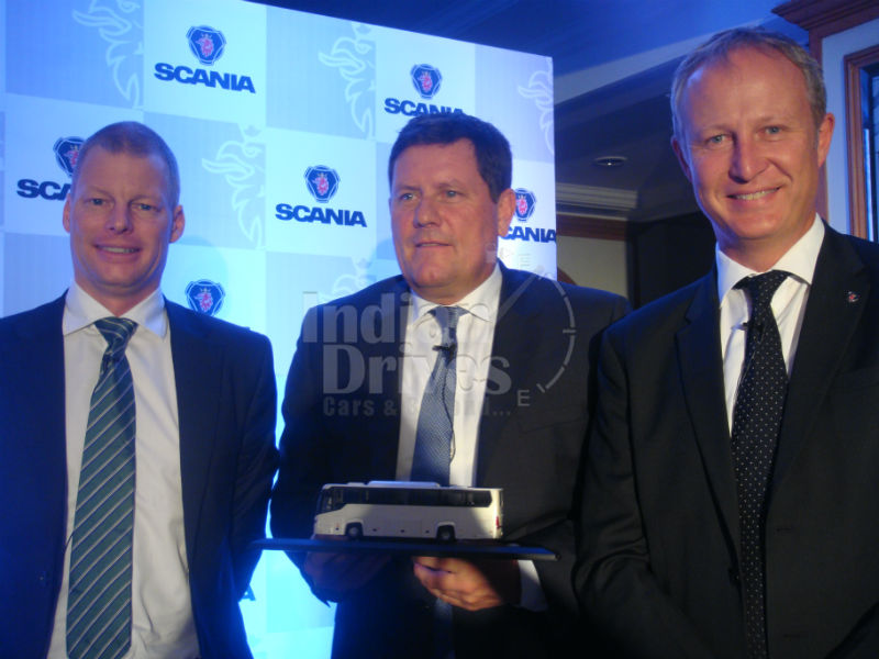 Scania launches MetroLink HD bus coach in India