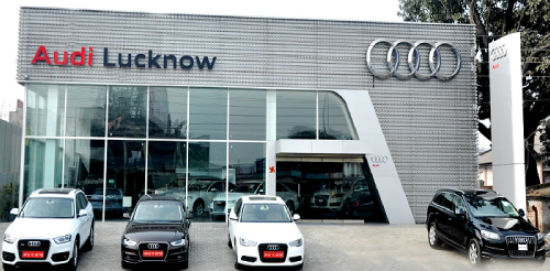 Audi new dealership in Lucknow