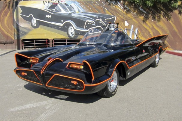 Batmobile Car