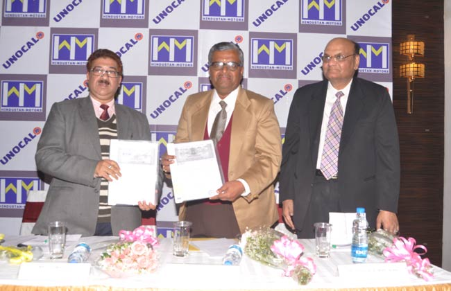 Hindustan Motors ties up with Raaj Unocal Lubricants