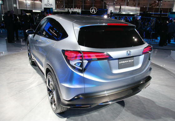 2013 Honda Urban SUV Concept back view