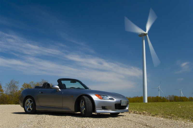 Honda plant to tap wind energy