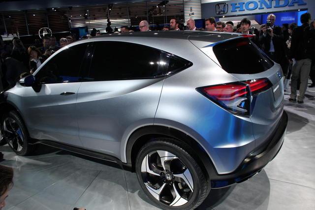 Honda reveals Urban SUV concept