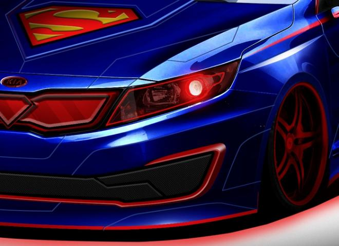 Kia to Unveil Superman Optima