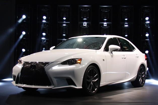 Lexus reveals its IS range at the Detroit Motor Show